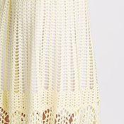 Одежда ручной работы. Ярмарка Мастеров - ручная работа ЛИМОННЫЙ СОБЛАЗН,вязаная крючком ажурная летняя юбка. Handmade.