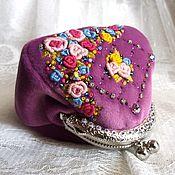 Сумки и аксессуары handmade. Livemaster - original item Miniature purse on the clasp