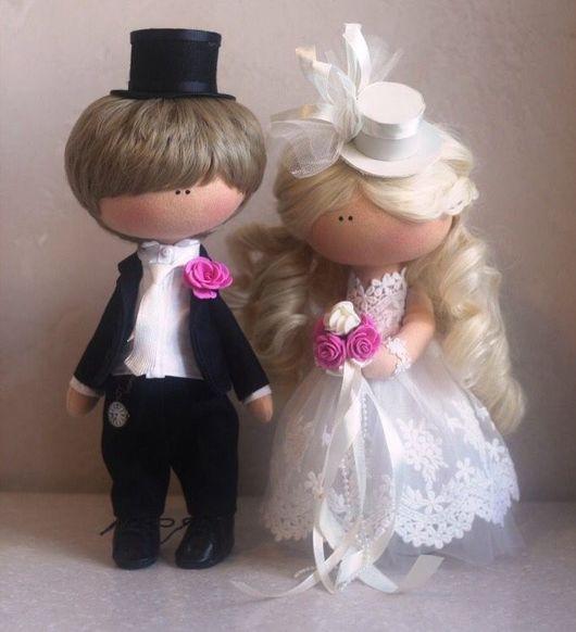 Коллекционные куклы ручной работы. Ярмарка Мастеров - ручная работа. Купить Свадьба в стиле.... Handmade. Свадьба, кукла ручной работы