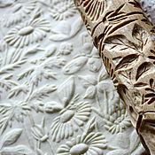 Для дома и интерьера ручной работы. Ярмарка Мастеров - ручная работа Скалка для пряников и печенья летний луг посуда из дерева. Handmade.