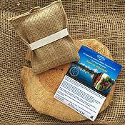 Косметика ручной работы handmade. Livemaster - original item Body washcloth cedar SAP With herbs of the Altai Mountains. Handmade.