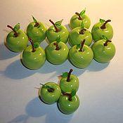 Для дома и интерьера ручной работы. Ярмарка Мастеров - ручная работа Зеленые Яблоки. Handmade.