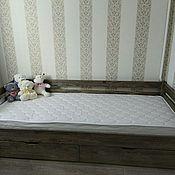 Мебель ручной работы. Ярмарка Мастеров - ручная работа Кроватка детская массив сосны. Handmade.
