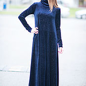 Одежда handmade. Livemaster - original item Velvet dress, Long dress, Maxi Dress. Handmade.