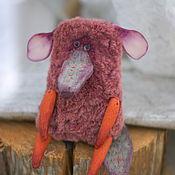 Куклы и игрушки ручной работы. Ярмарка Мастеров - ручная работа чУдный карманный зверь №2. Handmade.