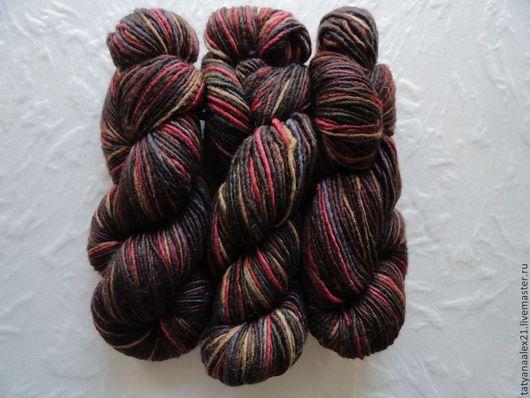 Вязание ручной работы. Ярмарка Мастеров - ручная работа. Купить Пряжа Manos del Uruguay Silk Blend Space Dyed № 3105 Lava. Handmade.