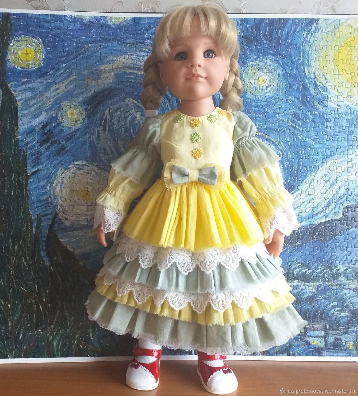Платье Готц, Gotz, 48 см, Цитрусовая свежесть, Одежда для кукол, Москва,  Фото №1