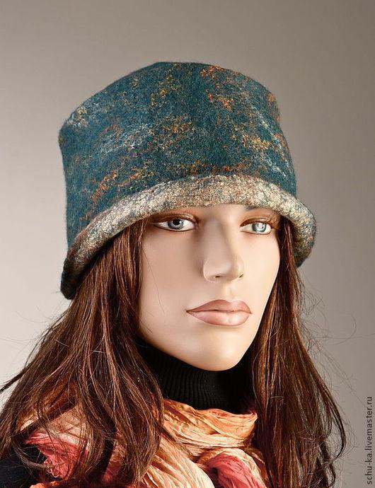 """Шляпы ручной работы. Ярмарка Мастеров - ручная работа. Купить Шляпка ручной работы """"Немного солнца в холодной воде"""". Handmade."""