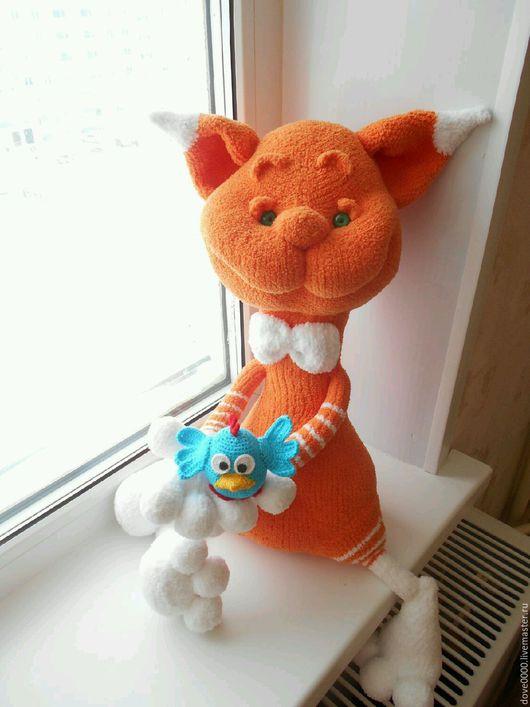 Игрушки животные, ручной работы. Ярмарка Мастеров - ручная работа. Купить Рыжий кот. Handmade. Рыжий кот, плюшевая игрушка