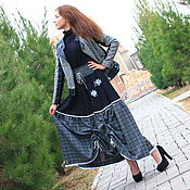 Одежда handmade. Livemaster - original item Warm skirt