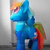 Дизайн и реклама handmade. Livemaster - original item Rainbow Dash Pony. Life-size puppet. Handmade.