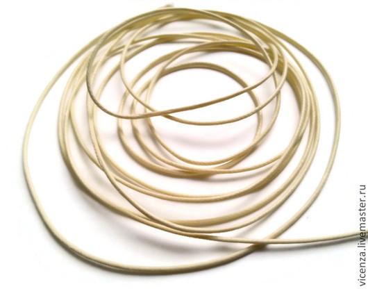 Шнур вощеный синтетический для украшений в ассортименте. Используется в скрапбукинге, для изготовления браслетов (в т.ч. шамбала), для ожерелий, бус и т.п.