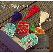 Канцелярские товары ручной работы. Ярмарка Мастеров - ручная работа Закладки для книг и ежедневника. Handmade.