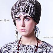 Аксессуары handmade. Livemaster - original item Handmade Felted hat Cap.. Handmade.