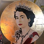 Картины и панно ручной работы. Ярмарка Мастеров - ручная работа Икона Британской Империи. Handmade.