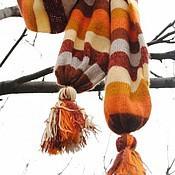 Аксессуары ручной работы. Ярмарка Мастеров - ручная работа Полосатые шарфы на выбор. Handmade.