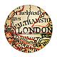 Для украшений ручной работы. Ярмарка Мастеров - ручная работа. Купить Кабошон 25 мм London. Handmade. Кабошон, кобошон