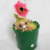 Куклы и игрушки ручной работы. Ярмарка Мастеров - ручная работа Нафанька цветочный тролль. Handmade.