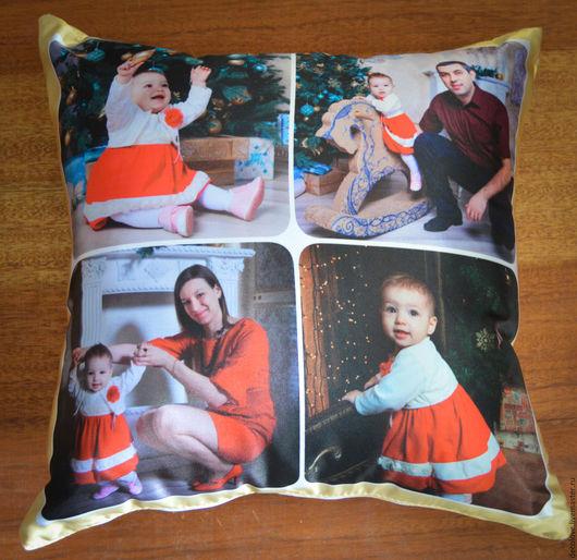 Подарки для мужчин, ручной работы. Ярмарка Мастеров - ручная работа. Купить Подушка с фото подарок мужчине подарок мужу подарок на день рождения. Handmade.