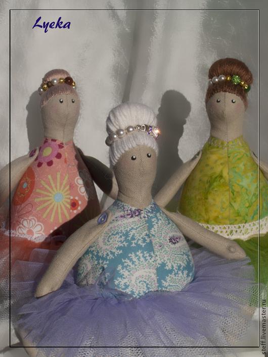 Куклы Тильды ручной работы. Ярмарка Мастеров - ручная работа. Купить Тильда-балерины. Handmade. Тильда, lyeka