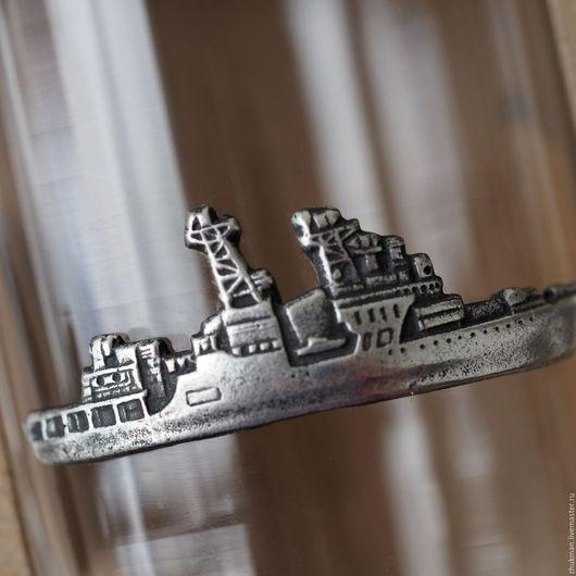 """Подарки для мужчин, ручной работы. Ярмарка Мастеров - ручная работа. Купить """"КРЕЙСЕР"""" набор стопок на троих (подарок на день ВМФ). Handmade."""