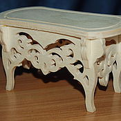 Материалы для творчества handmade. Livemaster - original item Dollhouse stool for the boudoir.182.. Handmade.