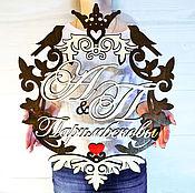 Панно ручной работы. Ярмарка Мастеров - ручная работа Семейный герб. Handmade.
