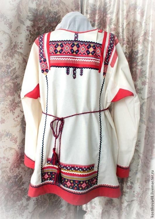Одежда ручной работы. Ярмарка Мастеров - ручная работа. Купить Рубаха - русская- Пасхальная. Handmade. Разноцветный, хлопок, отделочная лента