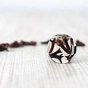 Украшения handmade. Livemaster - original item Transparent ring clove Seeds. Handmade.