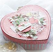 Канцелярские товары handmade. Livemaster - original item Box of secrets / Treasure chest IN STOCK. Handmade.