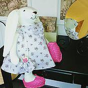 Куклы и игрушки ручной работы. Ярмарка Мастеров - ручная работа Зайка по имени Эмма. Handmade.