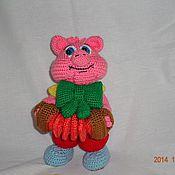 Куклы и игрушки ручной работы. Ярмарка Мастеров - ручная работа Поросенок фунтик. Handmade.
