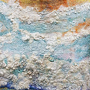 Одежда handmade. Livemaster - original item Summer dress hand weaving and felt