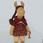 Куклы и игрушки ручной работы. Ярмарка Мастеров - ручная работа Лошадка Боня. Handmade.