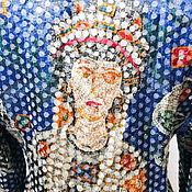 Винтаж ручной работы. Ярмарка Мастеров - ручная работа Пиджак Византия японский винтаж. Handmade.