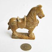 Для дома и интерьера ручной работы. Ярмарка Мастеров - ручная работа Фигурка лошади, резная фигурка, каменная фигурка. Handmade.