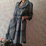 Одежда ручной работы. Ярмарка Мастеров - ручная работа Бохо платье асимметричное. Handmade.