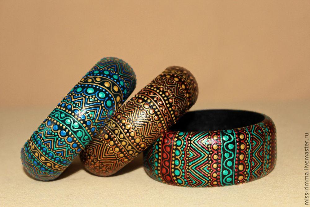Деревянные браслеты своими руками