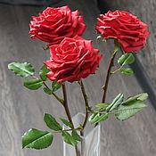 Цветы и флористика handmade. Livemaster - original item Red roses