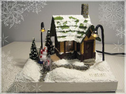 Ночник  `Снежный домик`