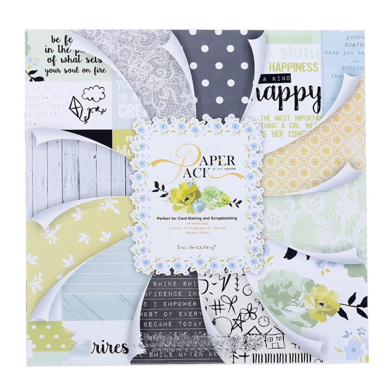 Набор бумаги 24 листа Аромат счастья, Бумага, Москва,  Фото №1