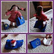 Куклы и игрушки ручной работы. Ярмарка Мастеров - ручная работа Вальдорфская куколка первоклассника. Handmade.