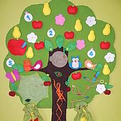 """Куклы и игрушки ручной работы. Ярмарка Мастеров - ручная работа Развивающее дерево """"Сказочное"""". Handmade."""