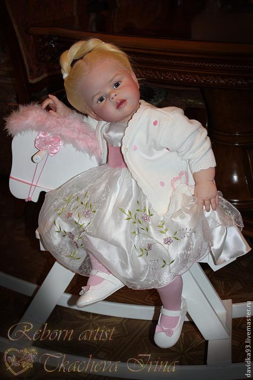 Куклы-младенцы и reborn ручной работы. Ярмарка Мастеров - ручная работа. Купить кукла-реборн Пелагея. Handmade. Бежевый