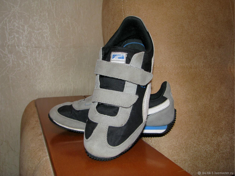 Vintage shoes: Sneakers Velcro Puma 34