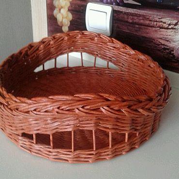 Для дома и интерьера ручной работы. Ярмарка Мастеров - ручная работа Корзина для фруктов и овощей. Handmade.