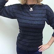 Одежда ручной работы. Ярмарка Мастеров - ручная работа Джемпер вязаный женский. Handmade.