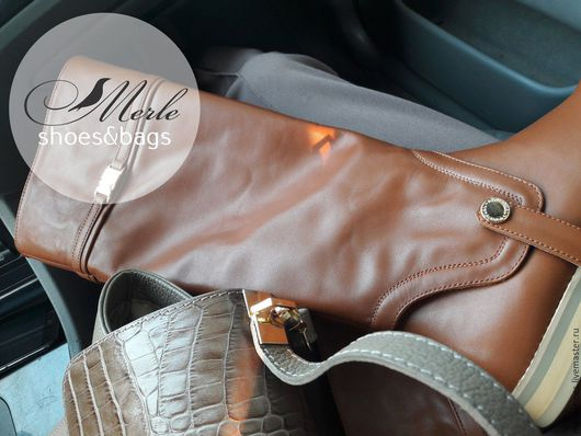 Обувь ручной работы. Ярмарка Мастеров - ручная работа. Купить Новая коллекция! Очень красивые сапожки-трансформеры, натуральная кожа. Handmade.