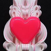 Сувениры и подарки ручной работы. Ярмарка Мастеров - ручная работа Резные свечи 11см. Также можете купить резные свечи оптом. Handmade.