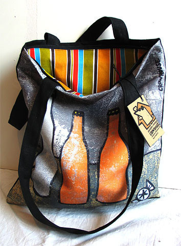 Bags & Accessories handmade. Livemaster - handmade. Buy Bag '«3 bottles and candy'.Bag, the author's work